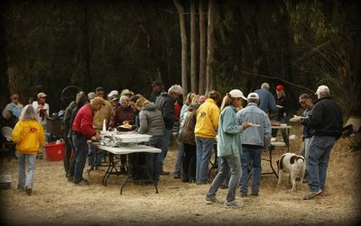 Photo Credit Scott Andrews<br> Ride Camp Dinner and Camaraderie